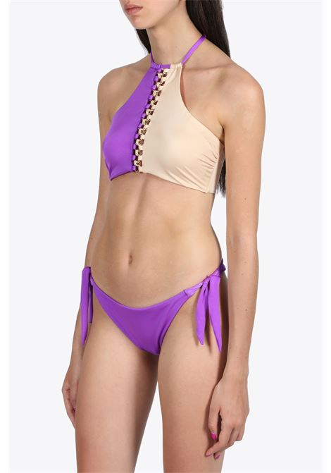 BIKINI BICOLORE IN LYCRA DISTRICT MARGHERITA MAZZEI | 23 | 0EB10 0EB370115