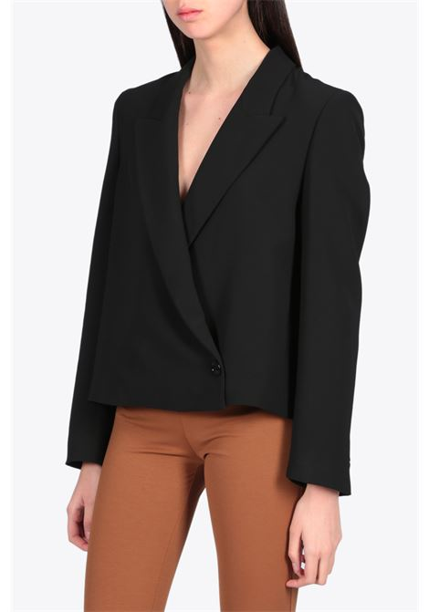 DOUBLE WAIST CROP BLAZER DRESSISM | 3 | 2531 2871BLACK