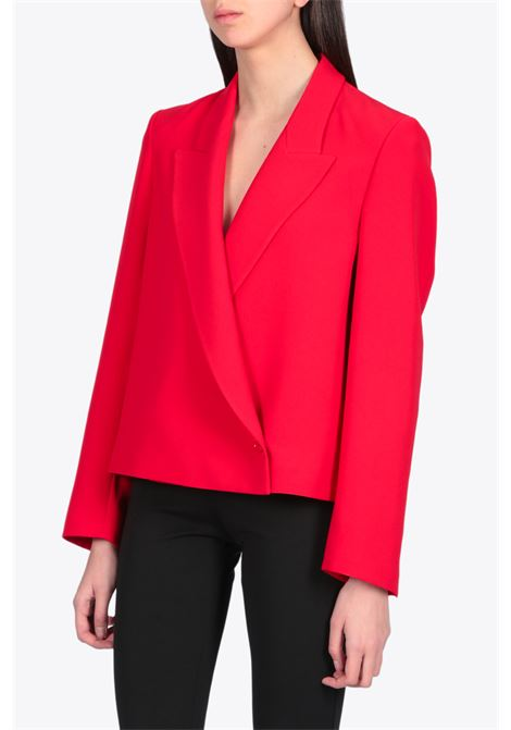 DOUBLE WAIST CROP BLAZER DRESSISM | 3 | 2531 2871RED