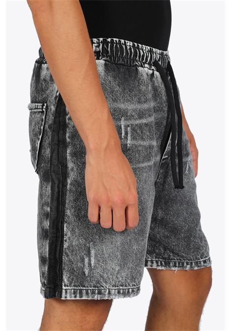 DRAWSTRING DENIM SHORTS DRSSSM | 30 | DRAWSTRING DENIM SHORTSGREY