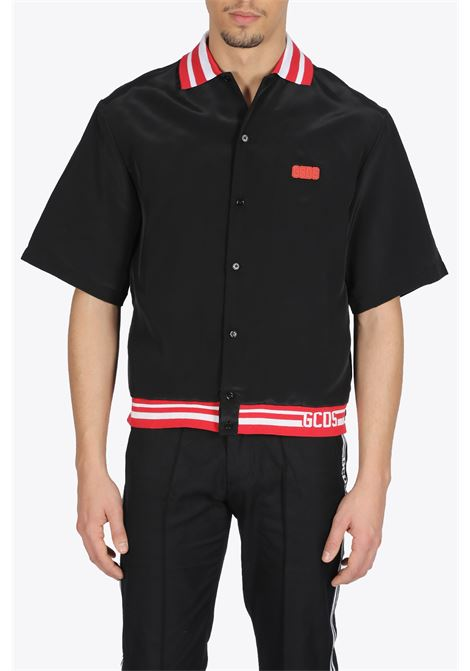 SHORT SLEEVES SHIRT GCDS | 6 | CC94M021200 SHORT SLEEVES SHIRTBLACK