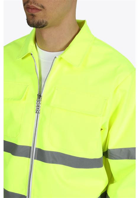 FLUO WORKWEAR COACH JACKET GCDS | 3 | CC94M041202 FLUO WORKWEAR COACHYELLOW FLUO