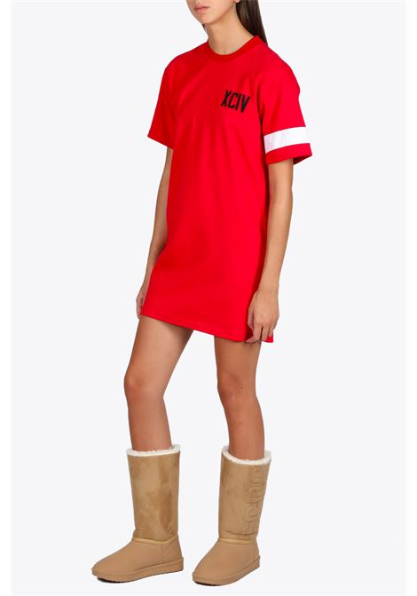 logo tee dress GCDS | 11 | CC94W021004 LOGO TEE DRESSRED
