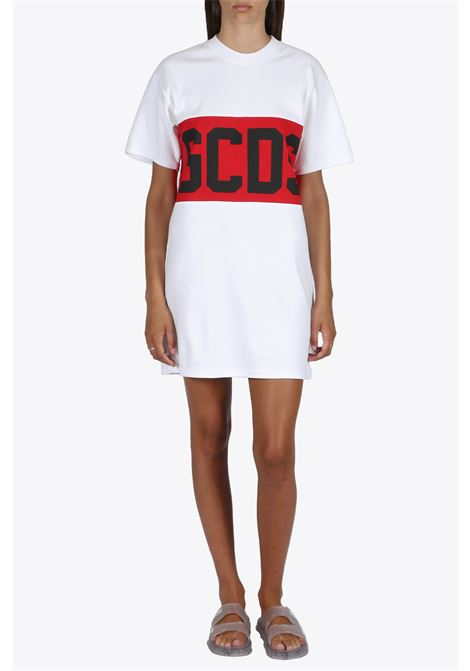 band logo tee dress GCDS | 11 | CC94W021011 BAND LOGO TEE DRESS01