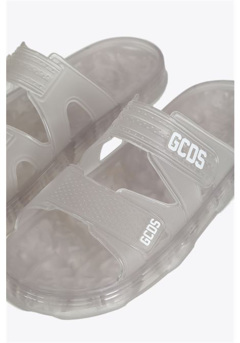 RUBBER SANDALS GCDS | 10000006 | SS20U010001 RUBBER SANDALSTRANSPARENT