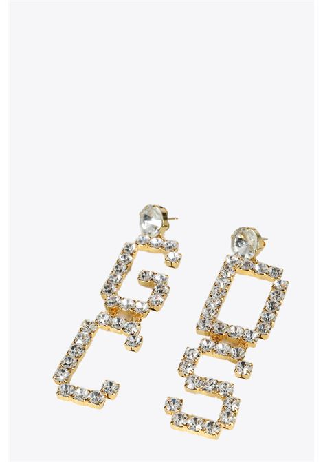 MIX STRASS EARRINGS GCDS | 48 | SS20W010127 MIX STRASS EARRINGSWHITE