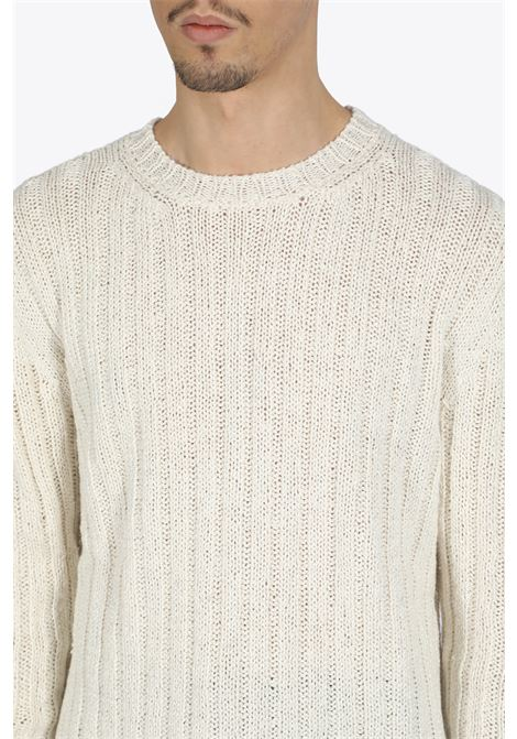 Rib knit cotton pull GRIFONI | -1384759495 | GG11032/75 GIROCOLLO A COSTE212