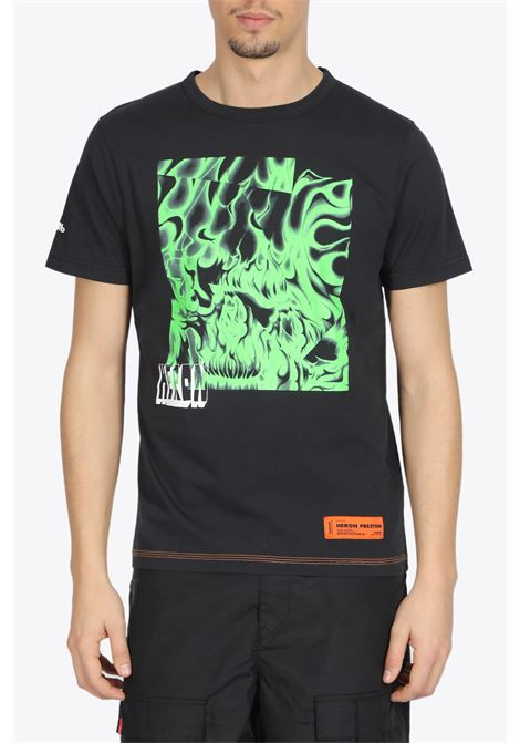 HERON PRESTON | 8 | HMAA011S20914020 T-SHIRT REG BOX SKULL1040