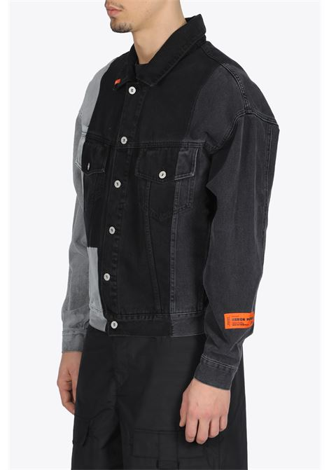PTACHWORK DENIM JACKET OVER HERON PRESTON | 3 | HMYE005S20797006 DENIM JACKET OVERR119