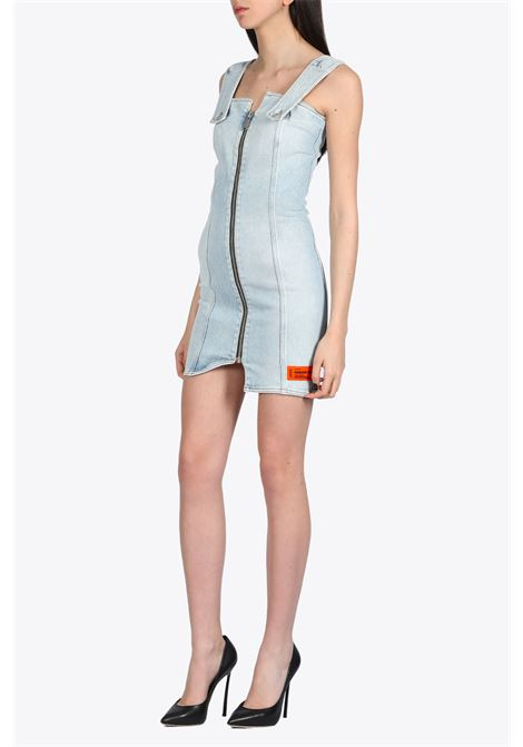 HERON PRESTON | 11 | HWYM001R20799004 DENIM ZIP DRESS7300