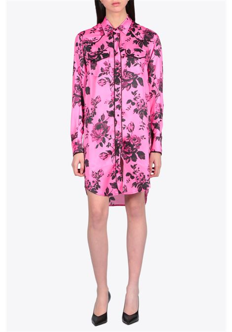 printed texan dress LANEUS | 11 | LAND ABD009 PRINTED TEXAN DRESSFUXIA