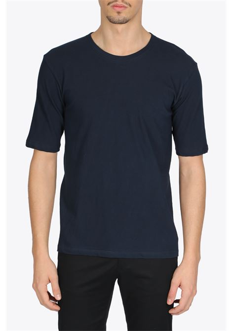 SHORT SLEEVE CREWNECK T-SHIRT LANEUS | 8 | LANU 90622 SHORT SLEEVE CREWNECK T-SHIRTBLUE