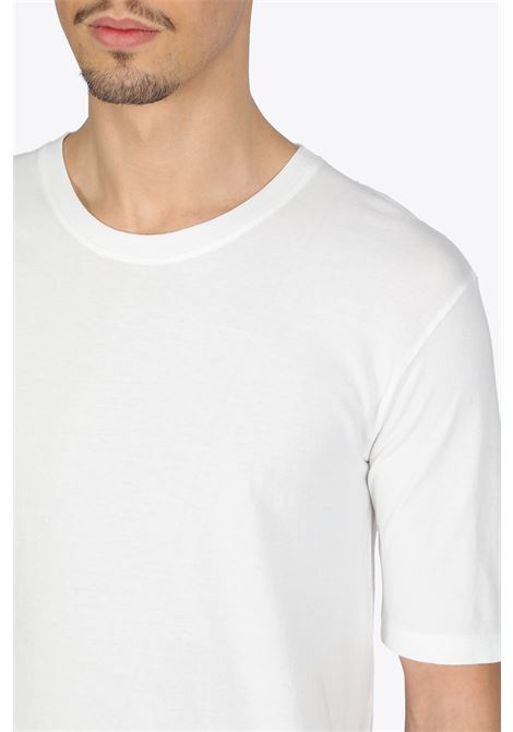 SHORT SLEEVE CREWNECK T-SHIRT LANEUS | 8 | LANU 90622 SHORT SLEEVE CREWNECK T-SHIRTOFF WHITE