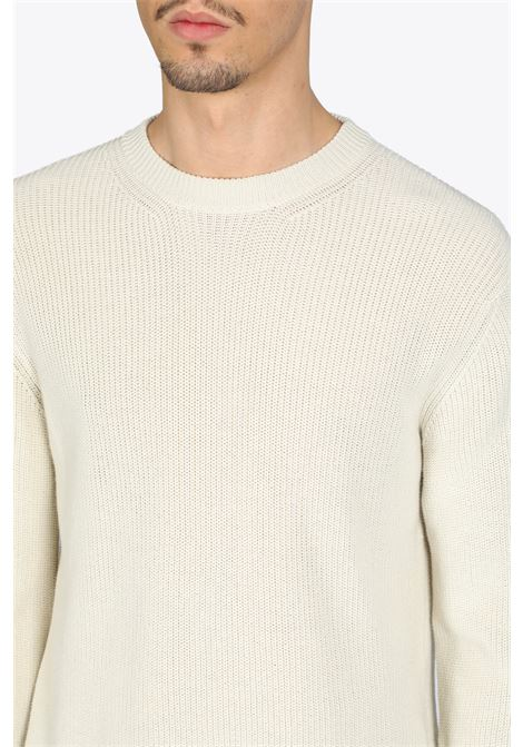 ENGLISH CREWNECK LANEUS | -1384759495 | LANU MGU737 ENGLISH CREWNECKSTUCCO