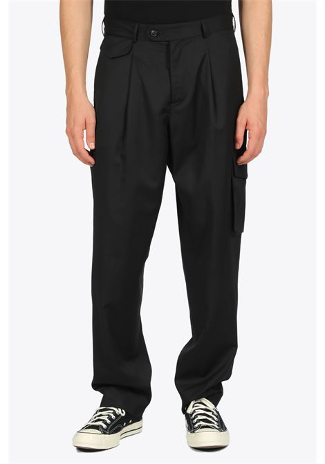 RELAXED TROUSERS LOWNN | 9 | SS20-REL-887-601-5730 RELAXED TROUSERSBLACK