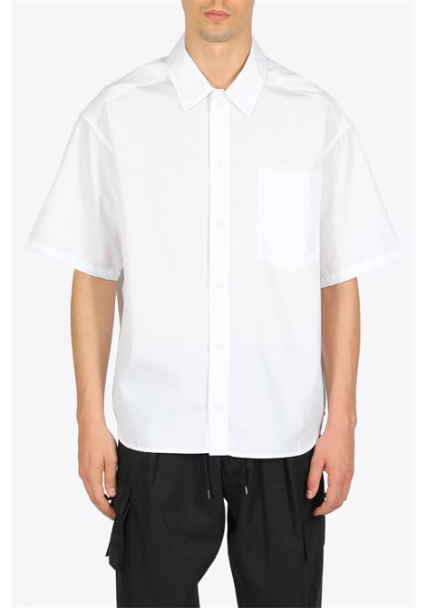 short sleeve popeline shirt LOWNN | 6 | SS20-SS-PS-03570-000 SHORT SLEEVE POPELIWHITE