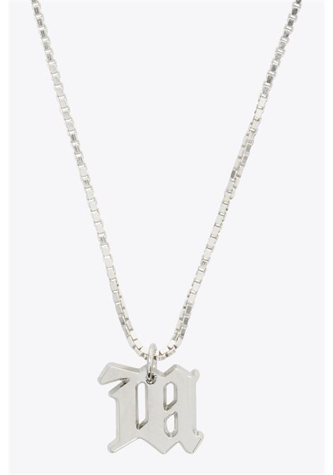 THE M NECKLACE MISBHV | 35 | 020A130 THE M NECKLACESILVER