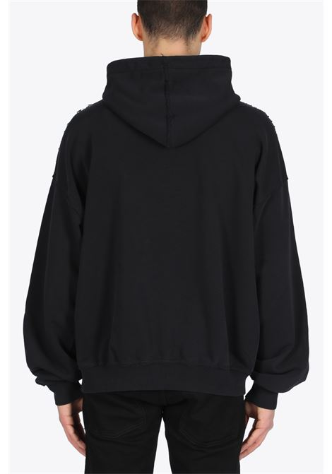 THE OTELLO HOODIE MISBHV | -108764232 | 020M021 THE OTELLO HOODIEWASHED BLACK