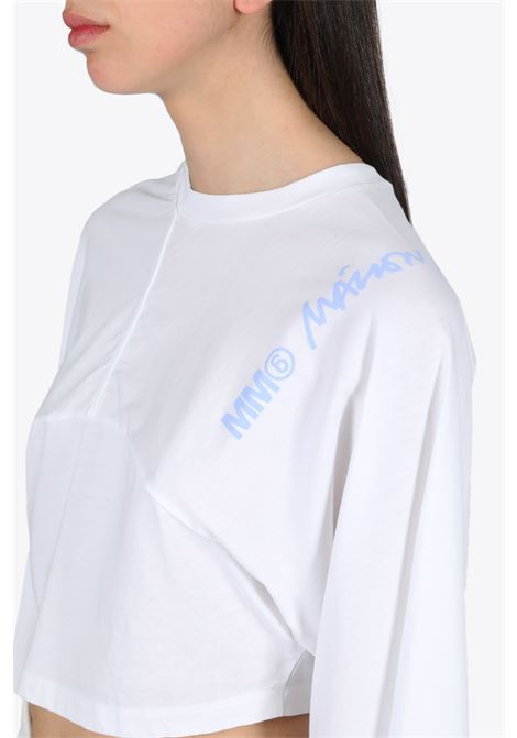 BASIC COTTON T-SHIRT  MM6 MAISON MARGIELA | 8 | S32GC0563 S23588 BASIC COTTON T-SHIRTOFF WHITE