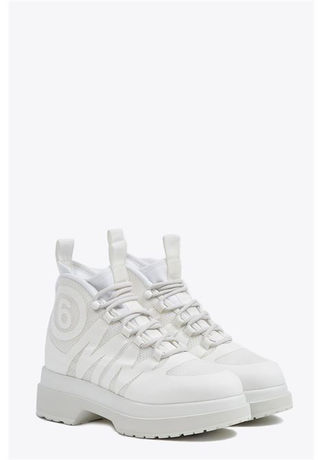 lace up logo sneakers MM6 MAISON MARGIELA | 10000039 | S59WU0105 P3118H7418