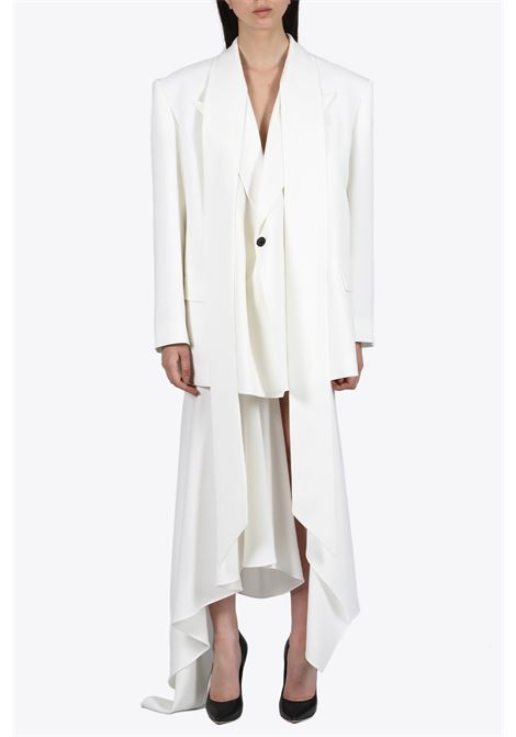 tailored jacket with scarf detail MUGLER | 3 | VE03051009