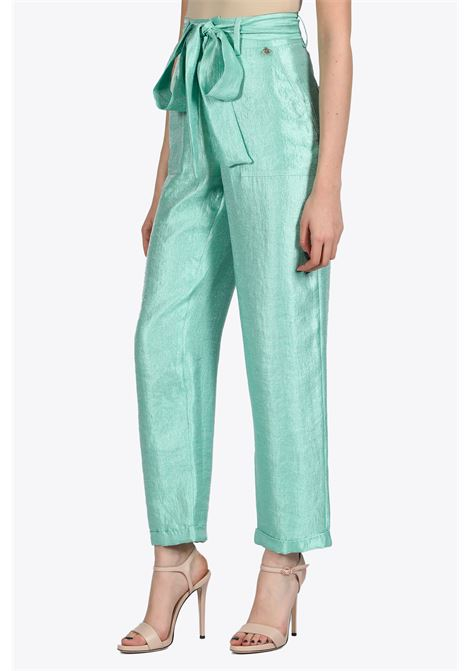 High waist belted pant NEVERBETHESAME | 9 | 352UNICO