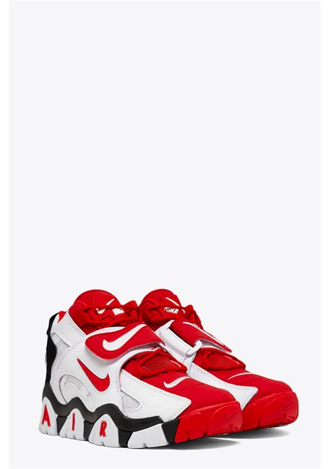 NIKE | 10000039 | AT7847-102 AIR BARRAGE MIDWHITE/RED/BLACK