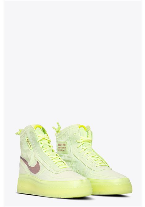 AIR FORCE 1 SHELL NIKE | 10000039 | BQ6096-700 AIR FORCE 1 SHELLYELLOW FLUO