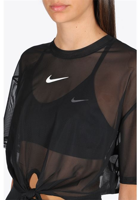 top in mesh NIKE | 8 | CJ2702-010 T-SHIRTBLACK/WHITE
