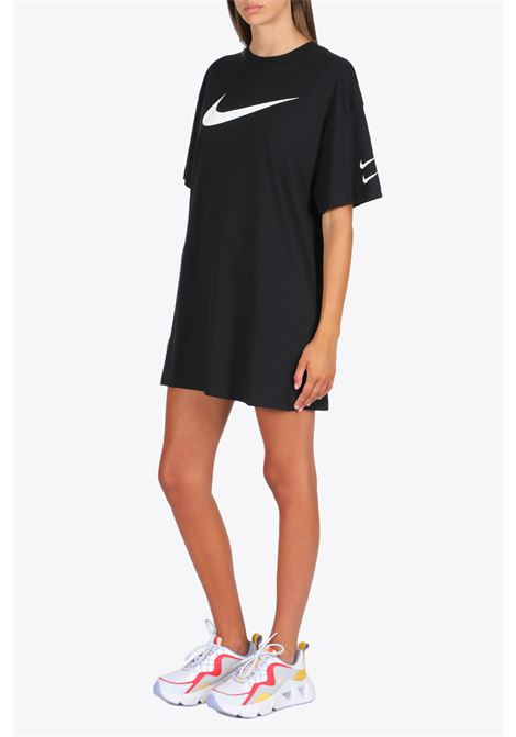 MAXI T-SHIRT/DRESS NIKE | 11 | CJ3829-238 DRESSBLACK/WHITE