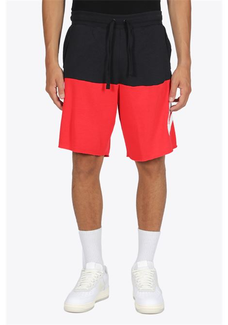 SHORTS BICOLORE NIKE | 30 | CJ4352-011 SHORTSBLACK/RED