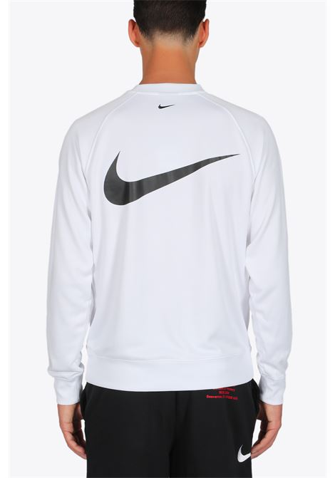 logo sweater NIKE | -108764232 | CJ4840-100 SWEATERWHITE/BLACK