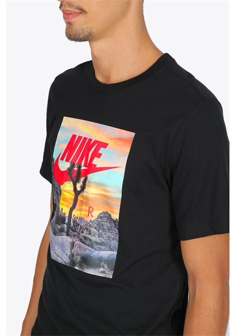 TREE T-SHIRT NIKE | 8 | CT6884-010 T-SHIRTBLACK/MULTI