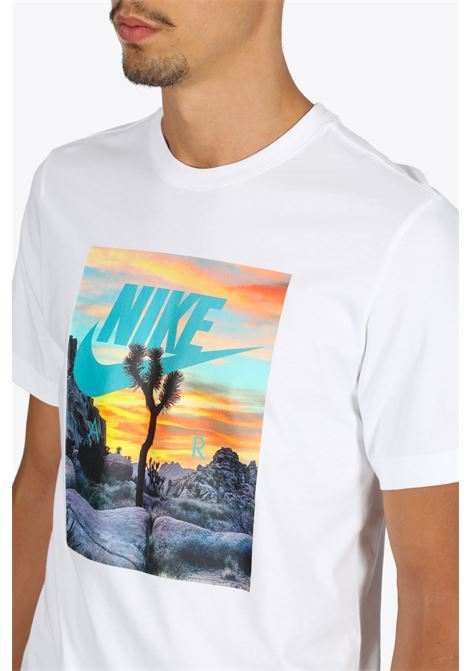 TREE T-SHIRT NIKE | 8 | CT6884-100 T-SHIRTWHITE/MULTI