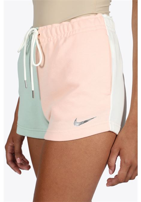 SWEAT SHORTS NIKE | 30 | DC3695-321 SHORTSGREEN/PINK