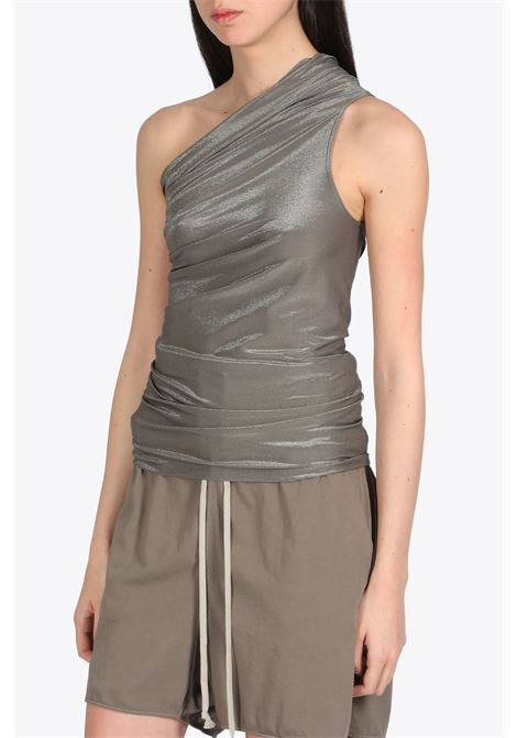ONE SHOULDER TOP RICK OWENS LILIES | 40 | LI20S2131 JX TOP34