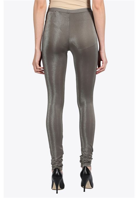LAMINATED LEGGINGS RICK OWENS LILIES | 5032243 | LI20S2340 JX LEGGINGS34