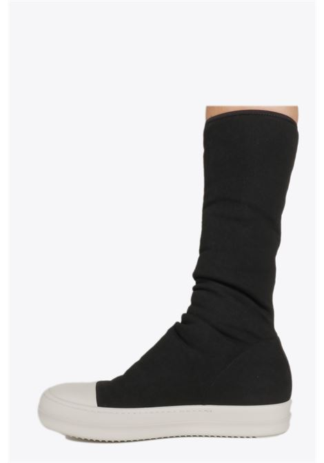 CANVAS SOCK SNEAKER RICK OWENS-DRKSHDW | 10000039 | DS20S5808 SBB SOCK SNEAKERS09