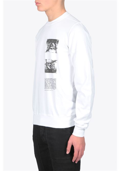 CREWNECK SWEAT RICK OWENS-DRKSHDW | -108764232 | DU20S5270 RIGEP2 CREWNECK SWEAT11009