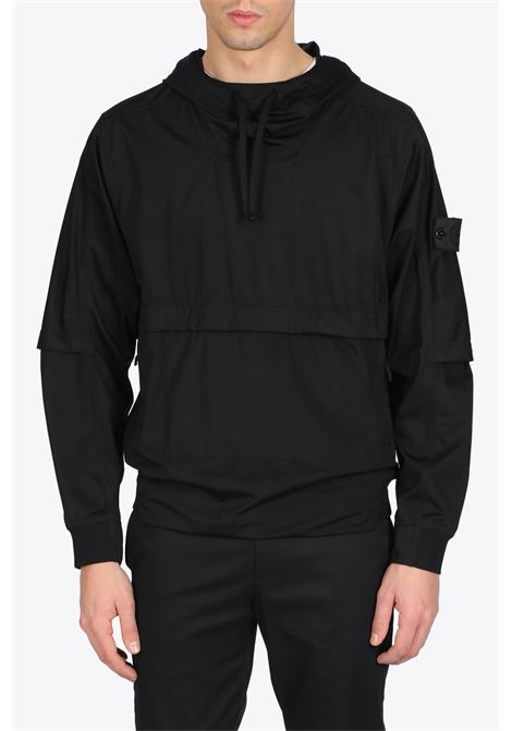 PACKABLE ANORAK STONE ISLAND SHADOW PROJECT | -276790253 | 721940504 V0029BLACK