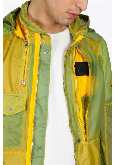 FIELD JACKET WITH SPLIT HOOD STONE ISLAND SHADOW PROJECT | -276790253 | 721941005 V0030YELLOW