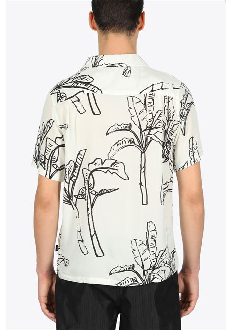 banana tree shirt STUSSY | 6 | 1110095 BANANA TREE SHIRTOFF WHITE
