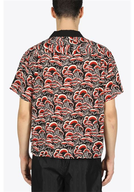 coral pattern shirt STUSSY | 6 | 1110105 CORAL PATTERN SHIRTRED