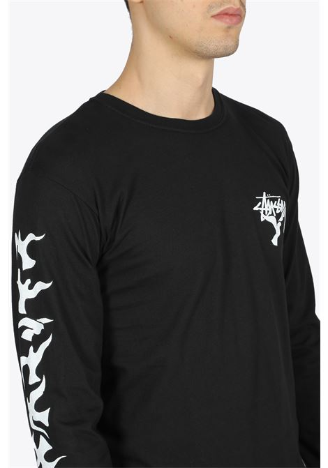 one love pig dyed ls tee STUSSY | 8 | 1994532 ONE LOVE PIG DYED LS TEEBLACK