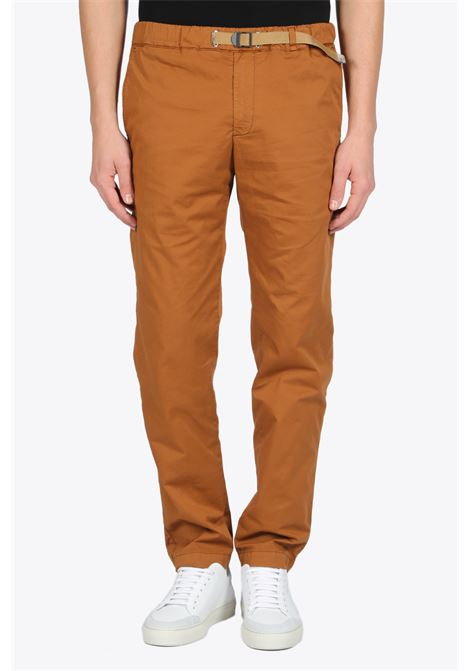 COTTON CHINO WITH BELT WHITE SAND | 9 | 668347