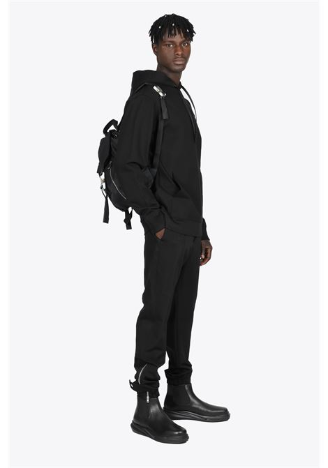 BLACK JOGGERS WITH ROLLERCOASTER BUCKLE 1017 ALYX 9SM | 9 | AAMPA0162FA02 TRACKPANT01
