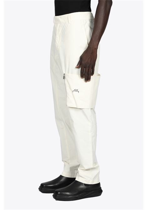 PANTALONE CARGO IN POPELINE PANNA A COLD WALL | 9 | ACWMB073WARM WHITE