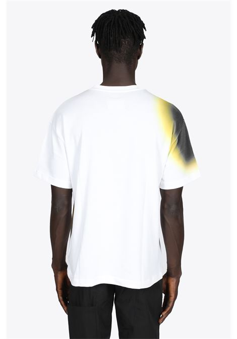 HYPERGRAPHIC T-SHIRT IN COTONE BIANCA CON STAMPA MULTICOLOR A COLD WALL | 8 | ACWMTS048 HYPERGRAPHIC SS T-SHIRTWHITE