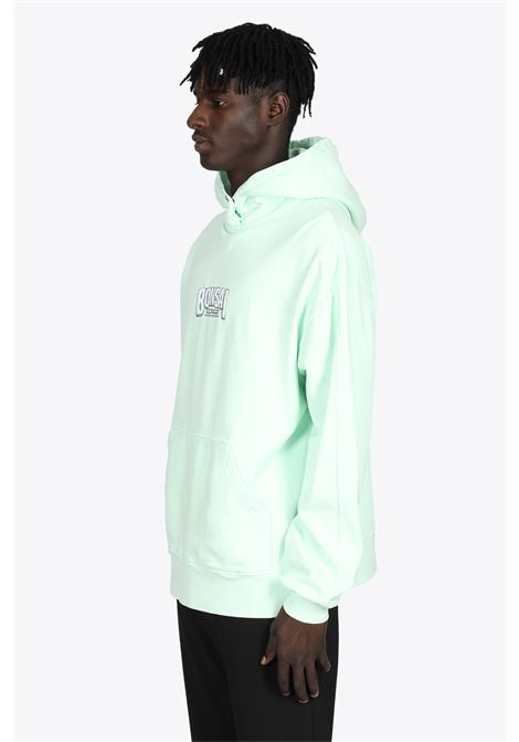 MINT GREEN COTTON HOODIE WITH LOGO EMRBOIDERY BONSAI | -108764232 | SW006MINT