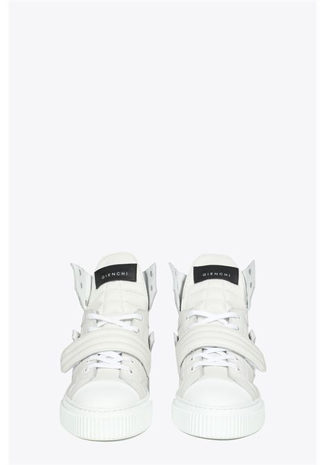 SNEAKER HYPNOS IN PELLE DI CERVO BIANCA GIENCHI | 10000039 | HYPNOSE WOMANROD0B001